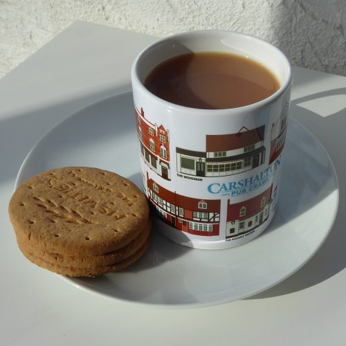 Pub Mug with tea