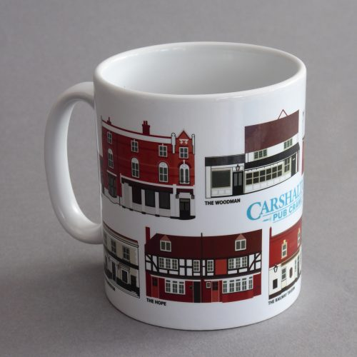 Carshalton Pub Mug 2019 Isolated