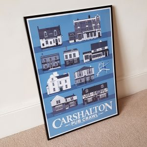 Carshalton Pub Crawl Poster