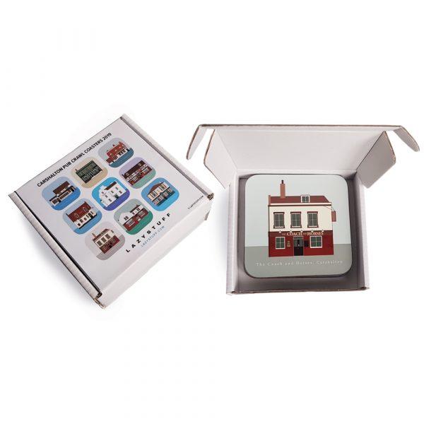 Coasters packaging