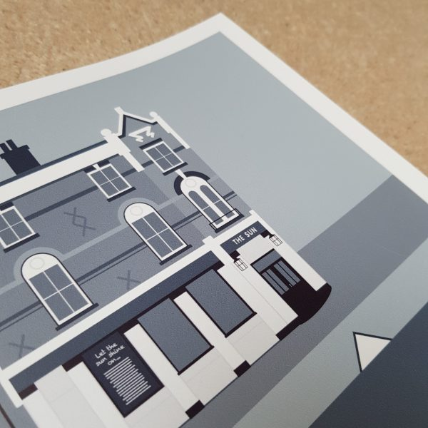 Carshalton Pub Crawl Posters 2019 Cool Grey
