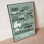A2 Pub Crawl Poster Green