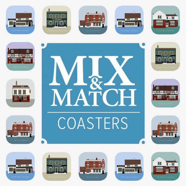 Coasters mix and match