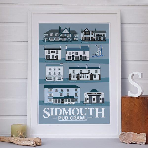 Sidmouth Pub Crawl Poster