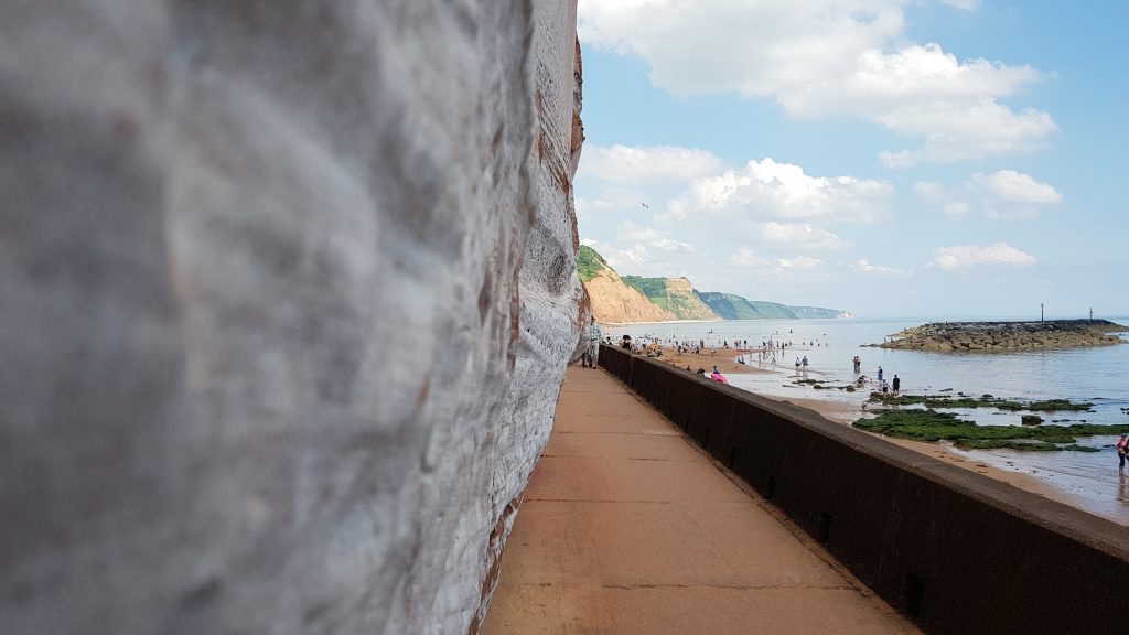 Photo of walkway in Sidmouth