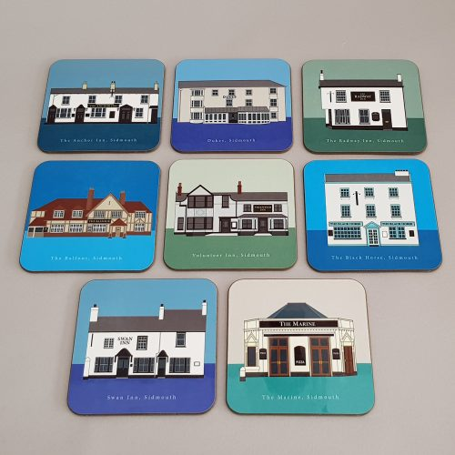 Sidmouth Coasters Full Set