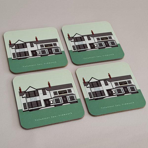 Sidmouth Matching Coasters