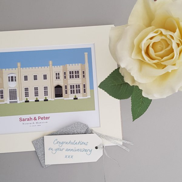 Close up of Nonsuch Mansion gift
