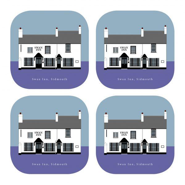 Swan Inn Coasters
