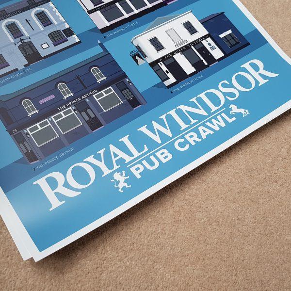 Windsor Pub Crawl Poster Detail