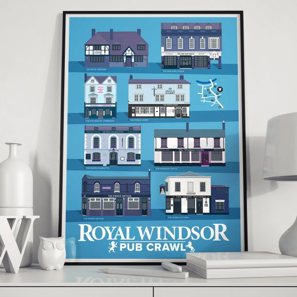 Windsor Pub Crawl Poster