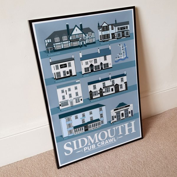 Sidmouth Pub Crawl Poster