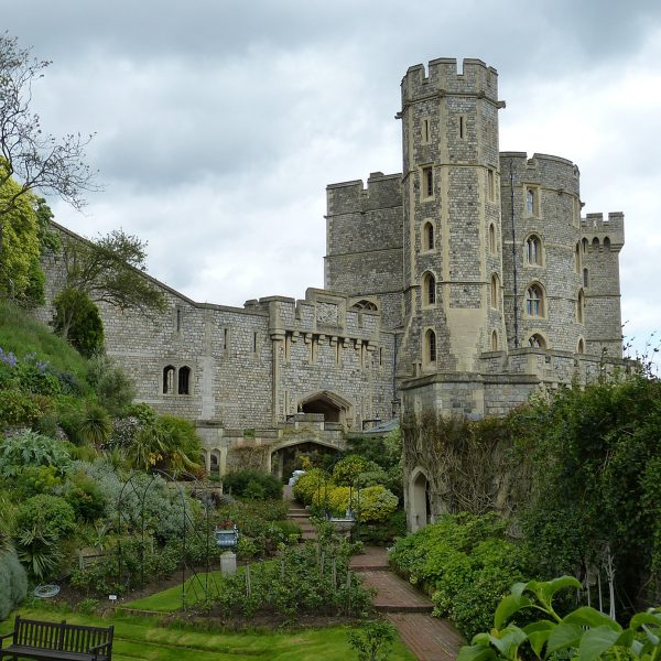 Windsor Castle and gardens