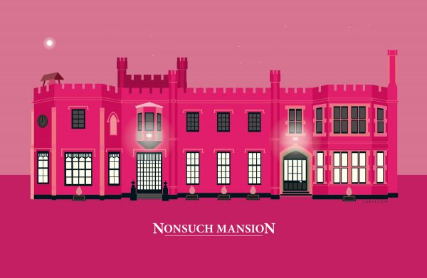 Nonsuch Mansion Hot Pink