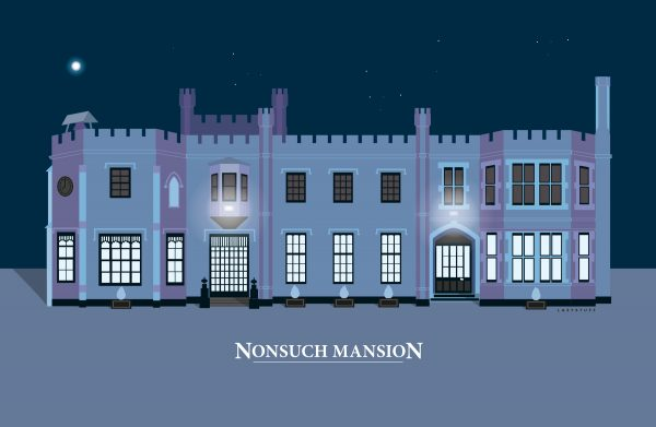 Nonsuch Mansion Cool Blue