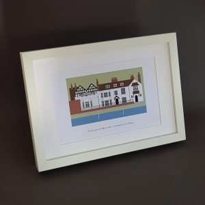 Honeywood A4 Framed