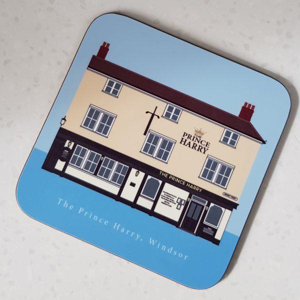The Prince Harry Pub Windsor Coaster