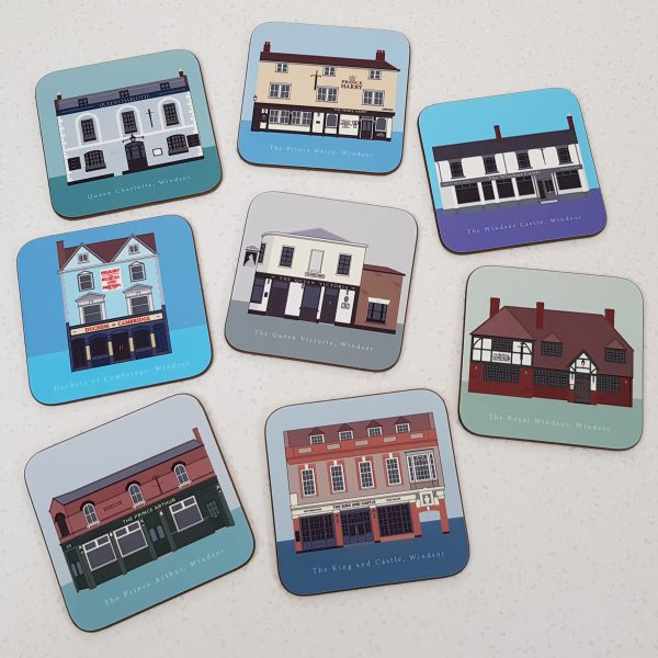 Windsor Pub Crawl Coasters
