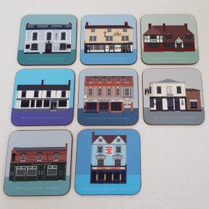 Windsor Pub Crawl Coasters