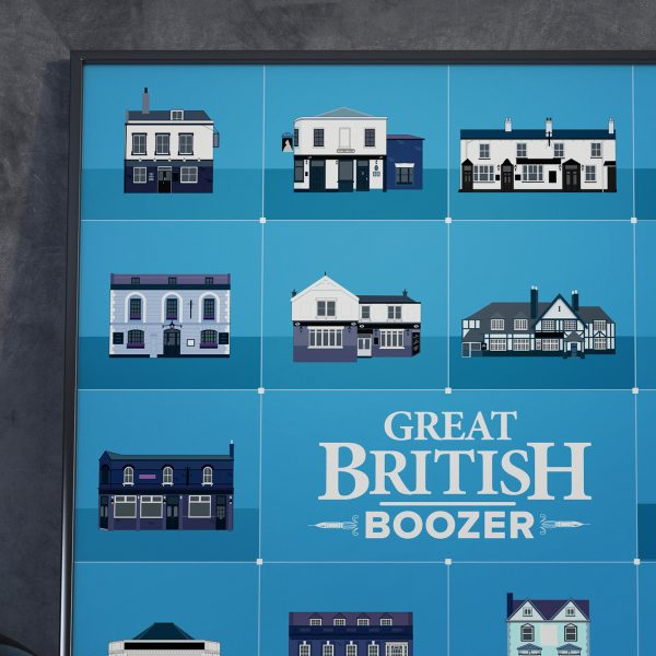 Great British Boozer Poster Detail
