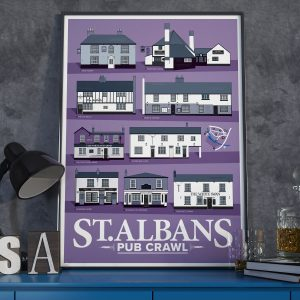 St Albans Pub Prints