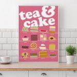 Tea and Cake Poster