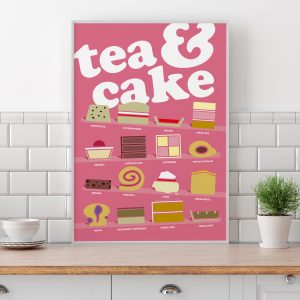 Tea and Cake Poster