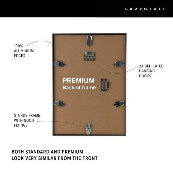 Lazystuff Premium Black A2 Frame