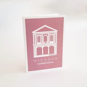 The Windsor Guildhall Greeting Card in Windsor UK