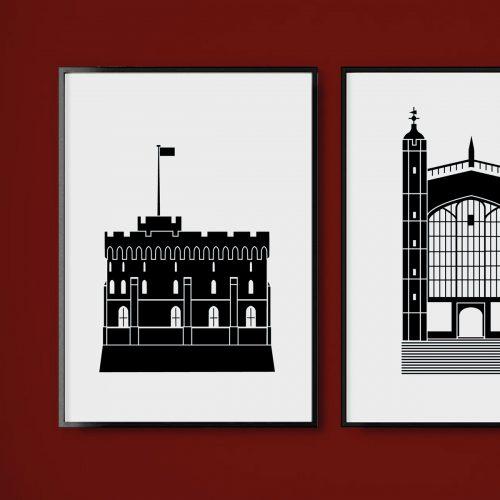 Windsor Castle illustratin