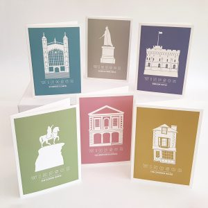 Full set of 6 Windsor Landmark Silhouette Range