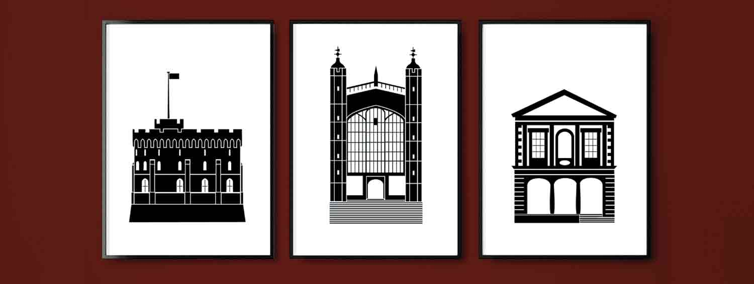 Windsor Landmarks A2 Prints