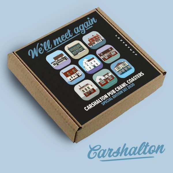 Carshalton Pub Crawl Coasters Special Edition