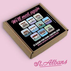 St Albans Pub Crawl Coasters 2020