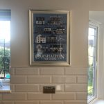 Carshalton Pub Print Blue photo review