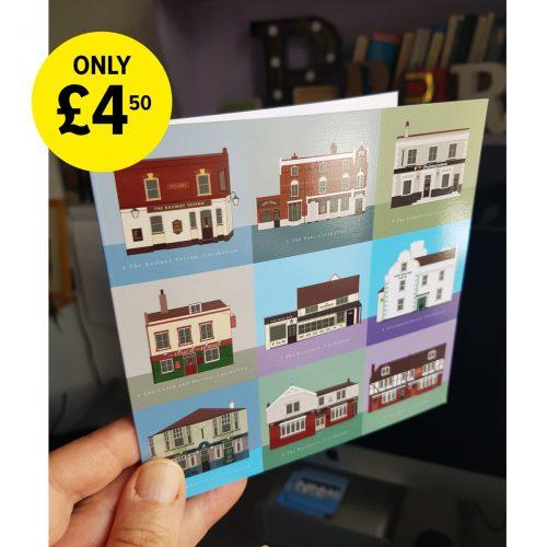 Single Carshalton cards