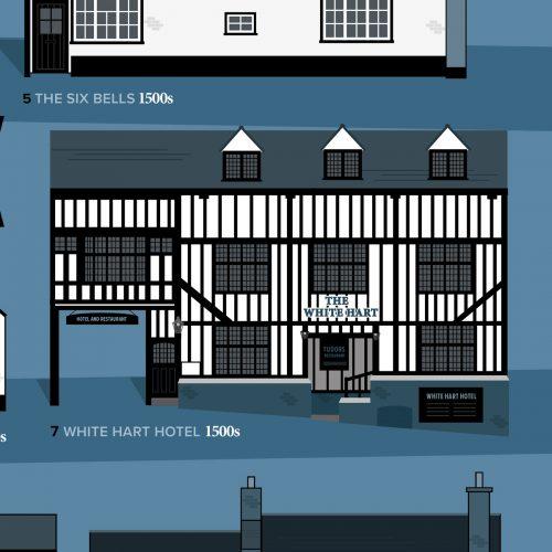The White Hart St Albans illustration