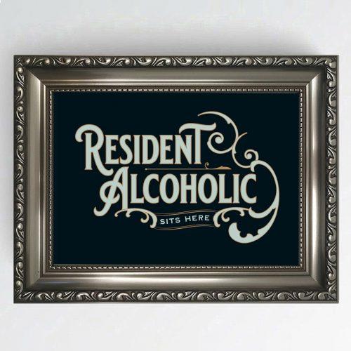 Antique Pub Sign Alcoholic