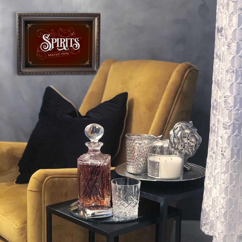 Spirits Print by chair