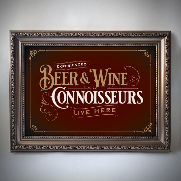 Beer & Wine Poster