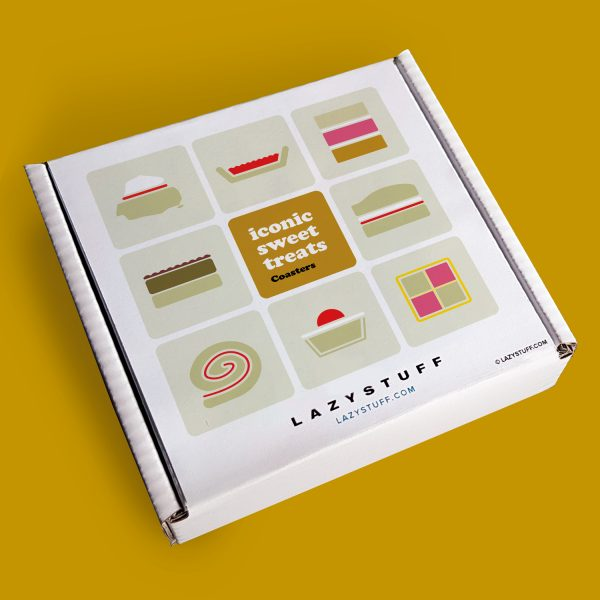 Iconic Sweet Treats Coasters