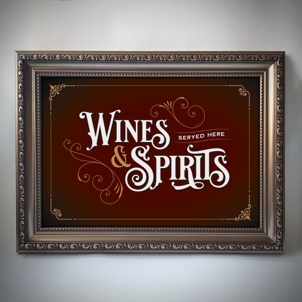 Wines & Spirits poster
