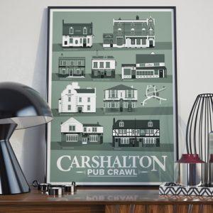 Carshalton Pub Prints
