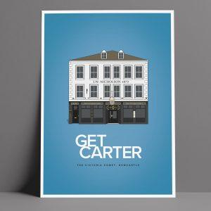 Get Carter Movie Pub Poster