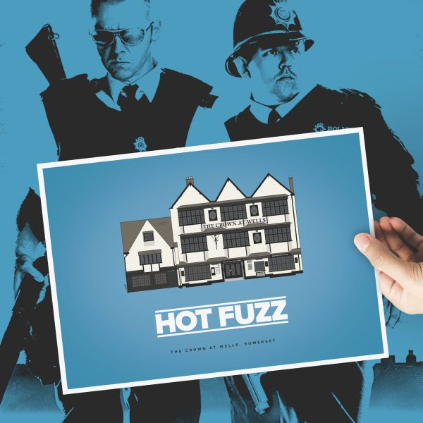 Hot Fuzz Crown at Wells Pub