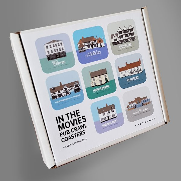 Pubs In Movies Coaster set