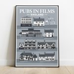 Pub In Movies England Print