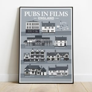 Pub In Movies England Print