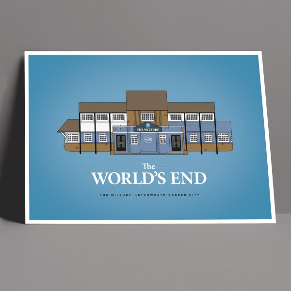 The World's End Pub Crawl Poster