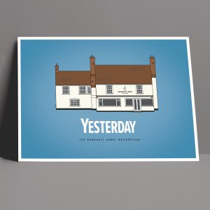 Yesterday Movie Pub Print